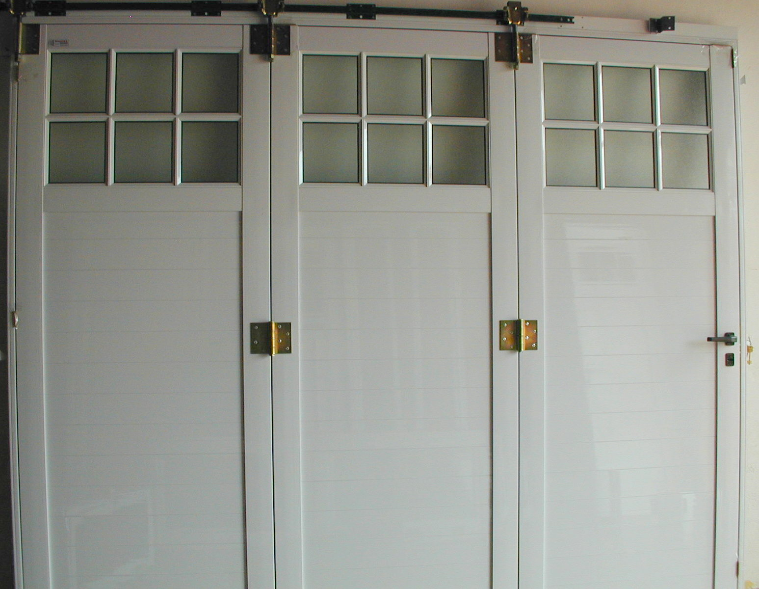 Portón linea tradicional